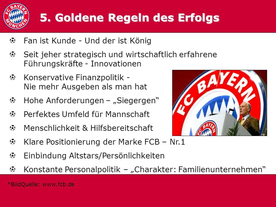 5. Goldene Regeln des Erfolgs