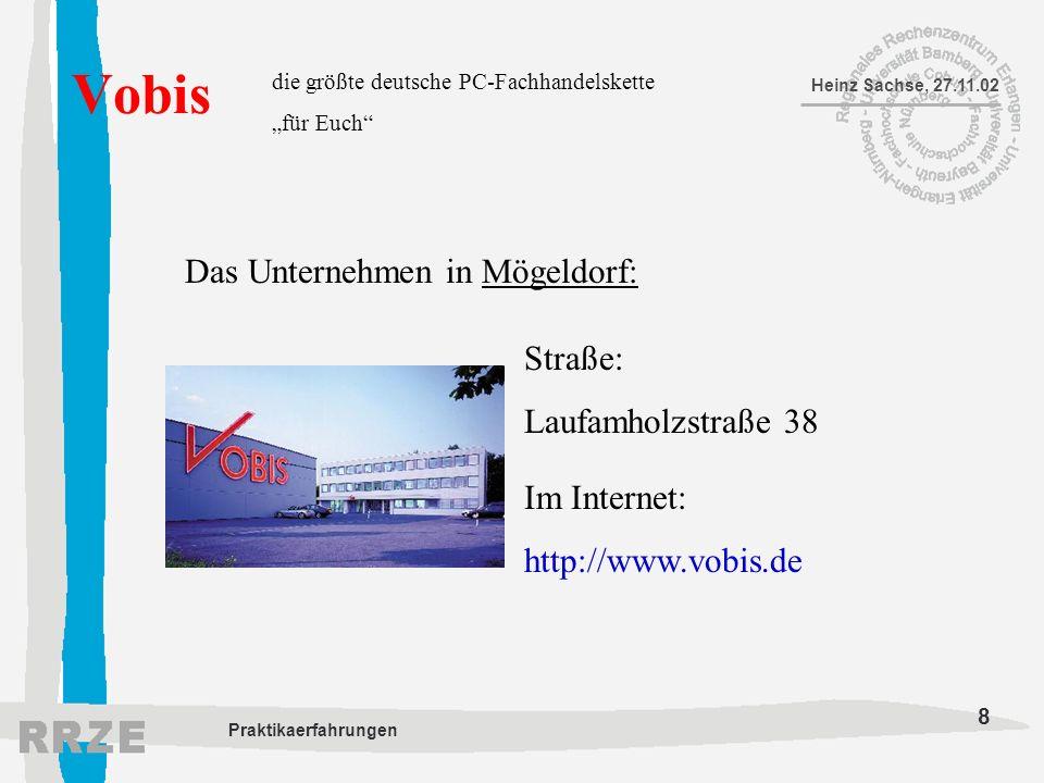 Vobis Das Unternehmen in Mögeldorf: Straße: Laufamholzstraße 38