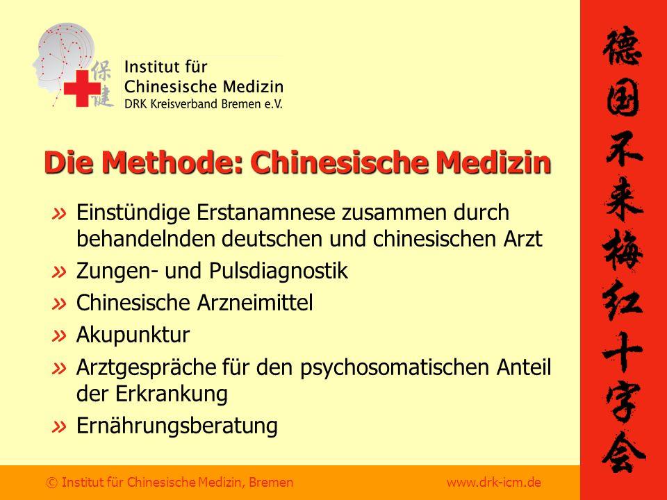 Die Methode: Chinesische Medizin