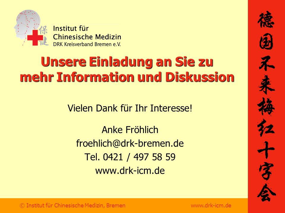 Unsere Einladung an Sie zu mehr Information und Diskussion