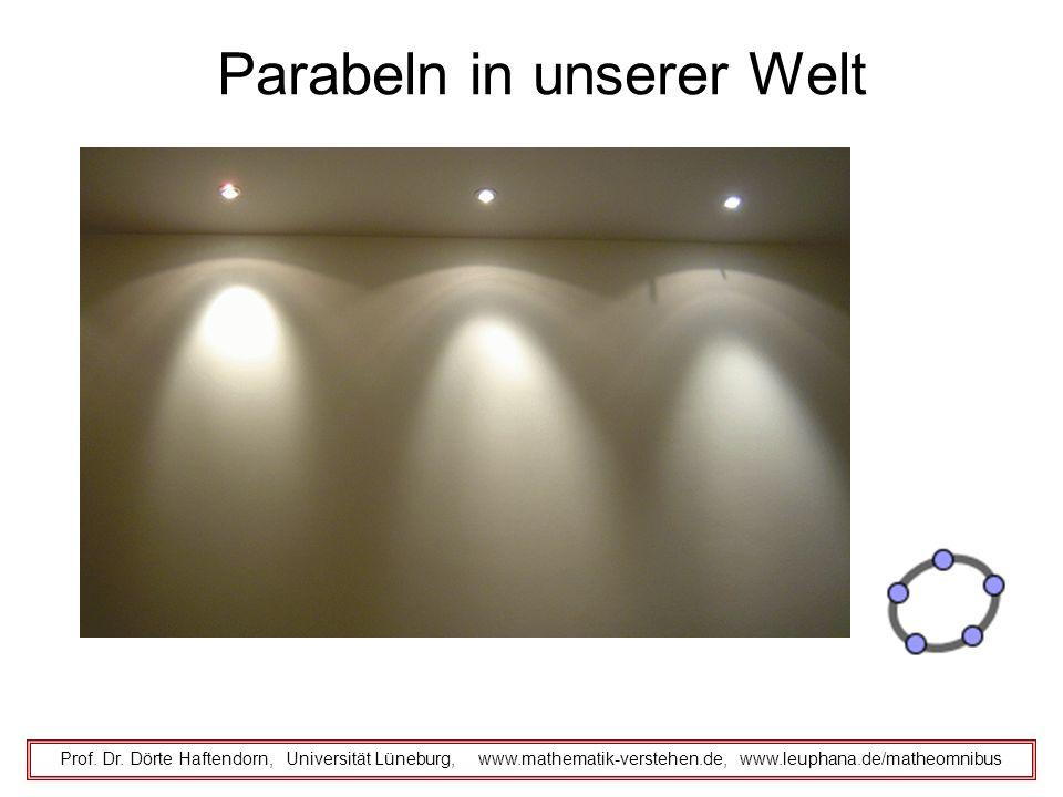 Parabeln in unserer Welt