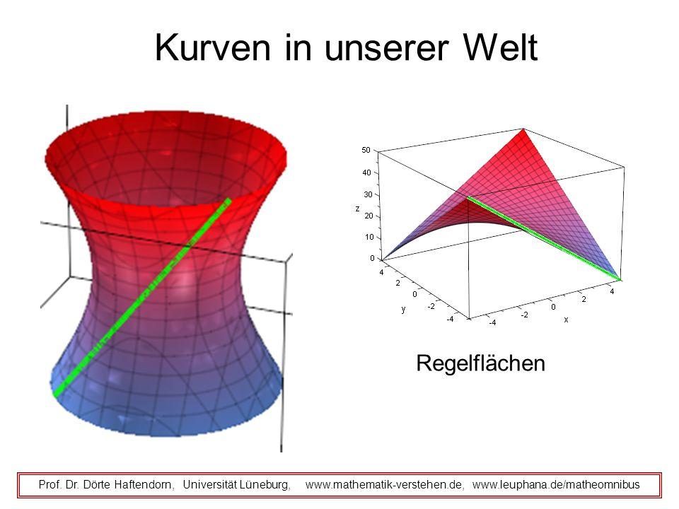 Kurven in unserer Welt Regelflächen