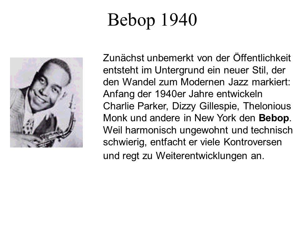Bebop 1940