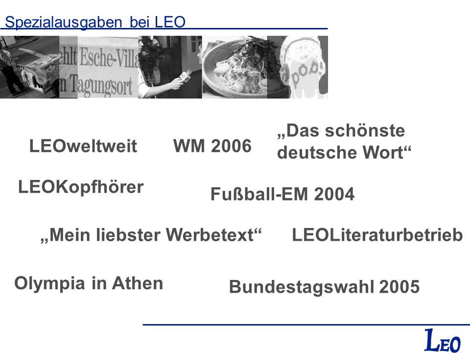 """""""Das schönste deutsche Wort LEOweltweit WM 2006"""