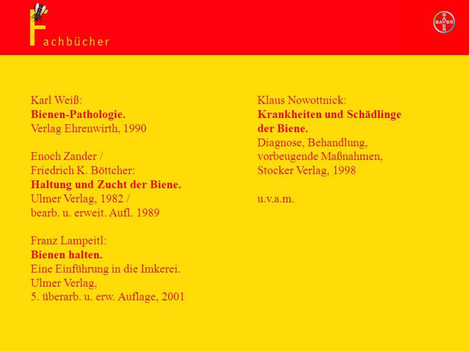 Haltung und Zucht der Biene. Ulmer Verlag, 1982 /