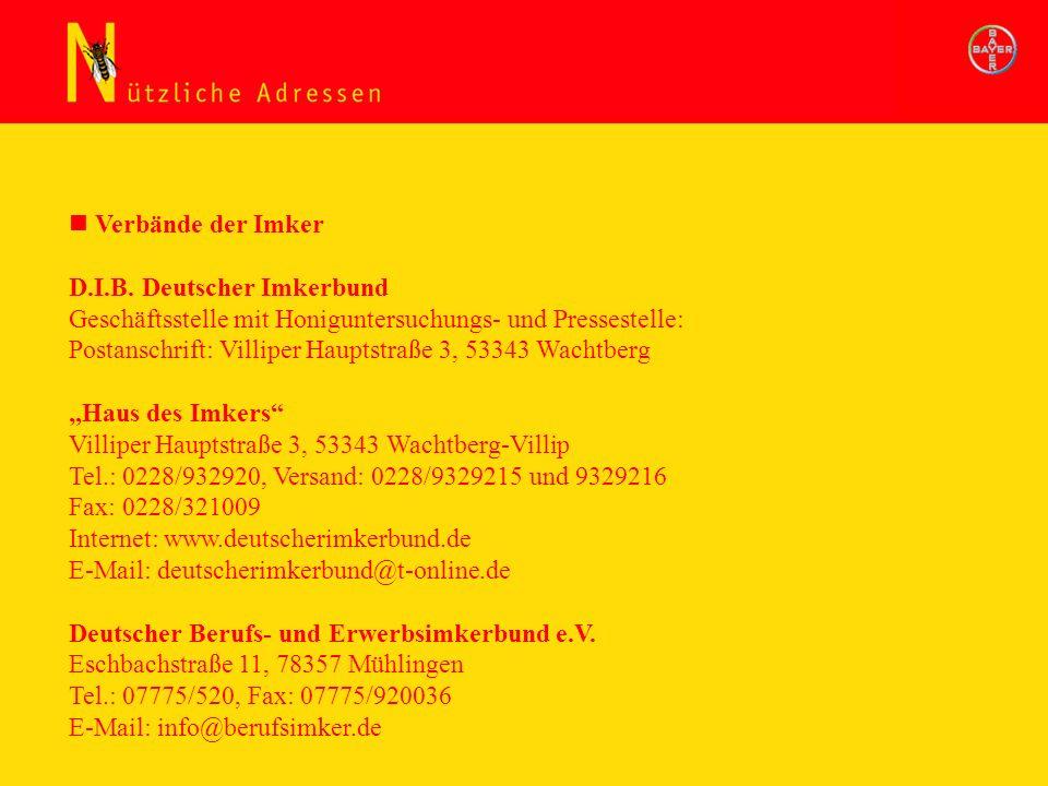 D.I.B. Deutscher Imkerbund