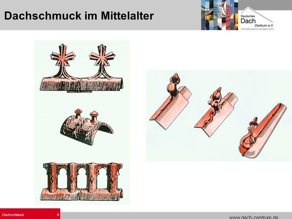Dachschmuck im Mittelalter