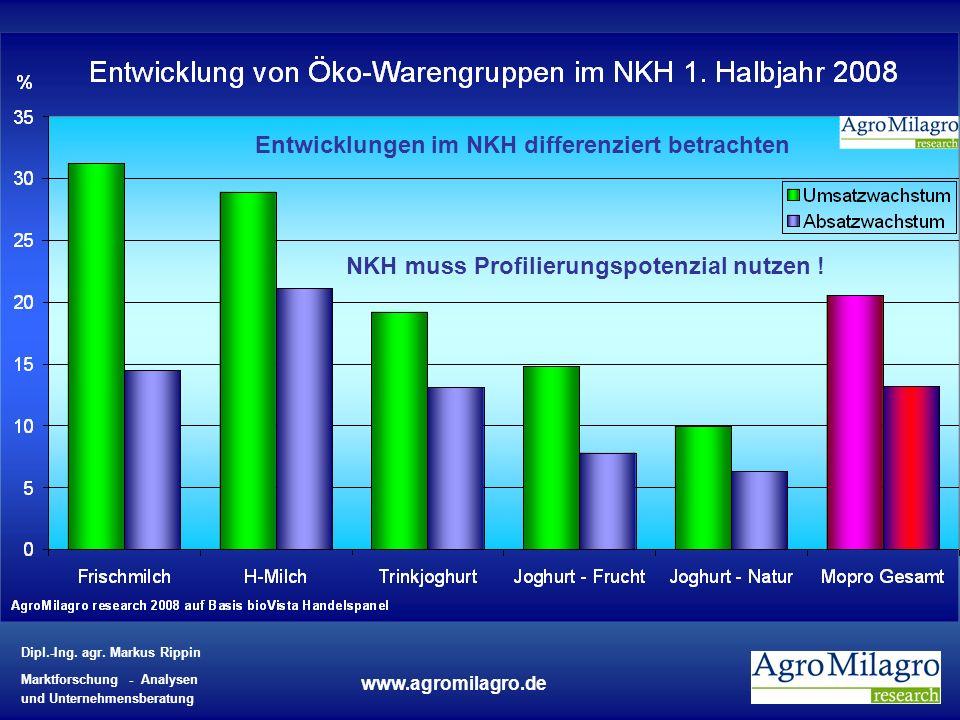 Entwicklungen im NKH differenziert betrachten