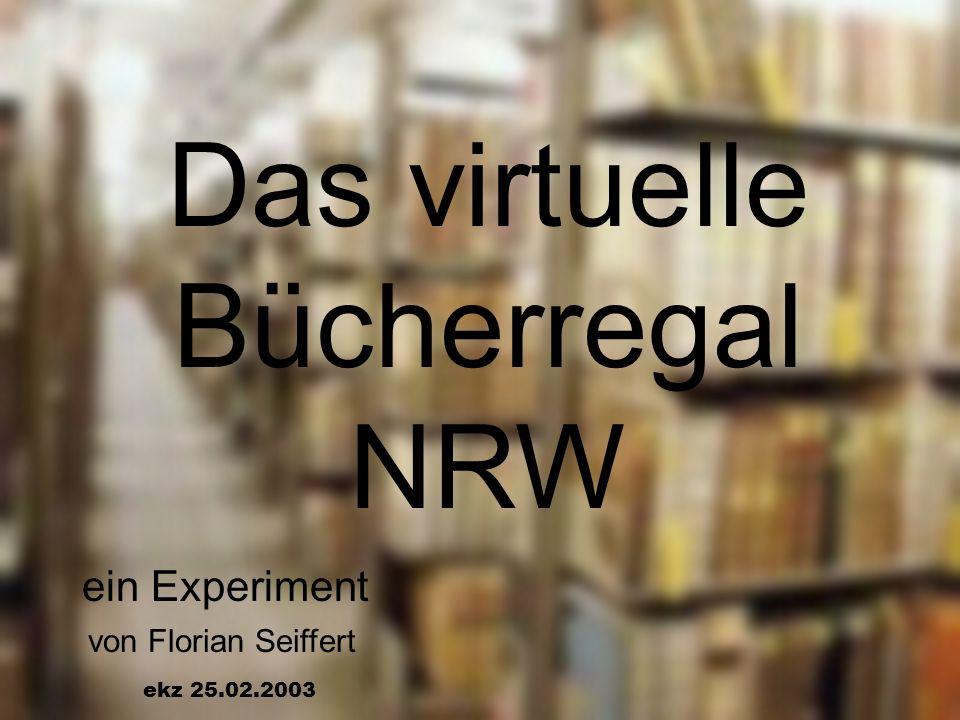 Das virtuelle Bücherregal NRW
