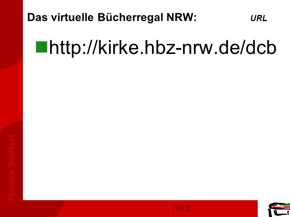 Das virtuelle Bücherregal NRW: URL