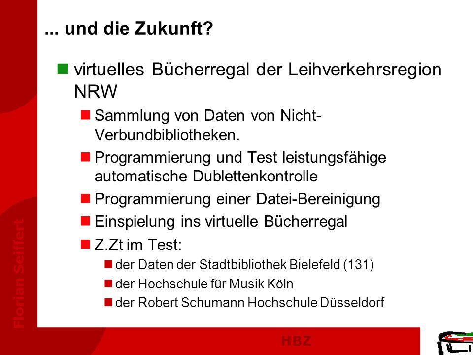 virtuelles Bücherregal der Leihverkehrsregion NRW