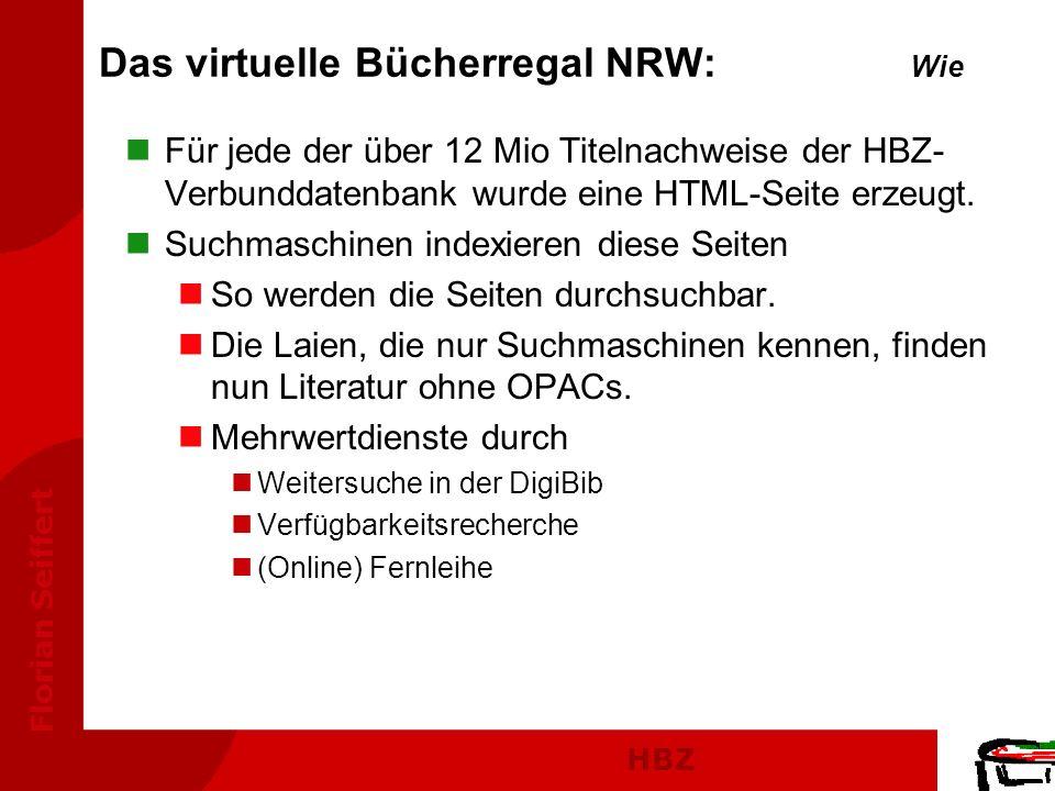 Das virtuelle Bücherregal NRW: Wie