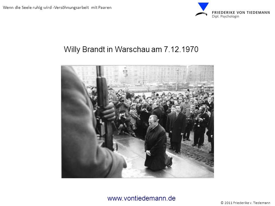 Willy Brandt in Warschau am 7.12.1970