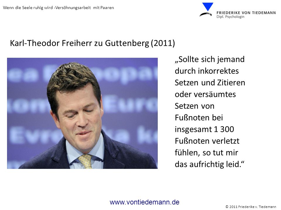 Karl-Theodor Freiherr zu Guttenberg (2011)