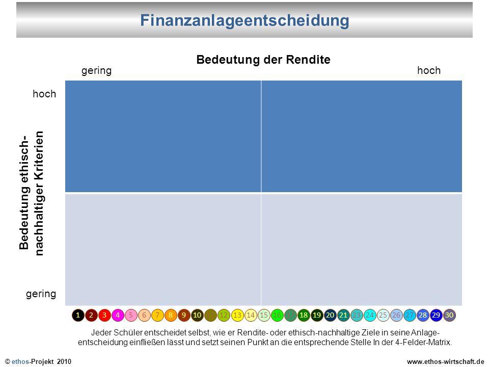 Finanzanlageentscheidung