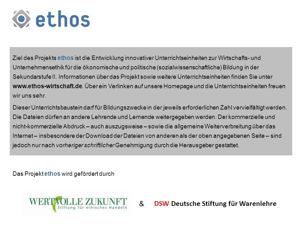 DSW Deutsche Stiftung für Warenlehre