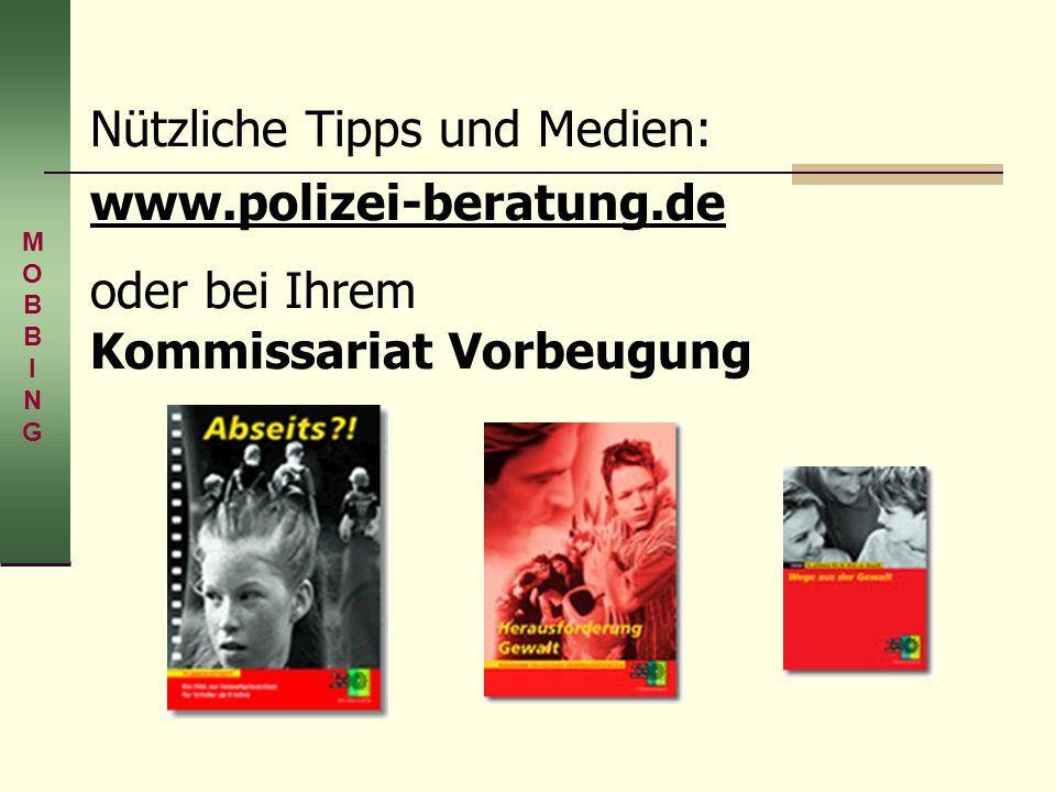 Nützliche Tipps und Medien: www. polizei-beratung