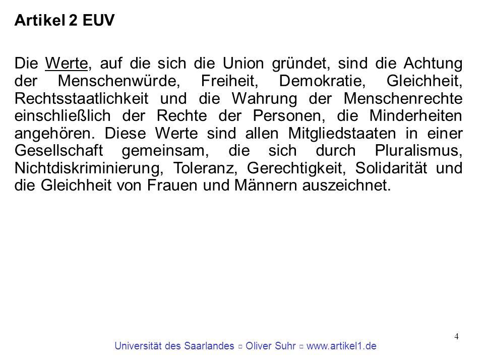 Artikel 2 EUV