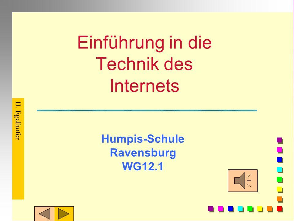 Einführung in die Technik des Internets