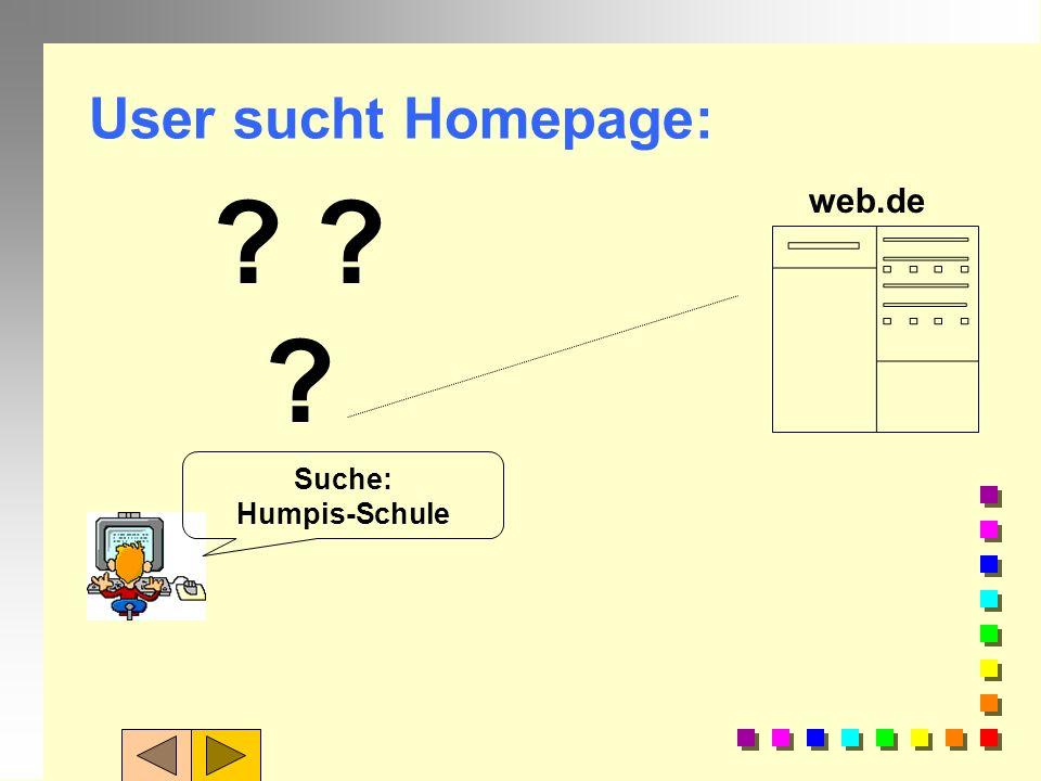 User sucht Homepage: web.de Suche: Humpis-Schule