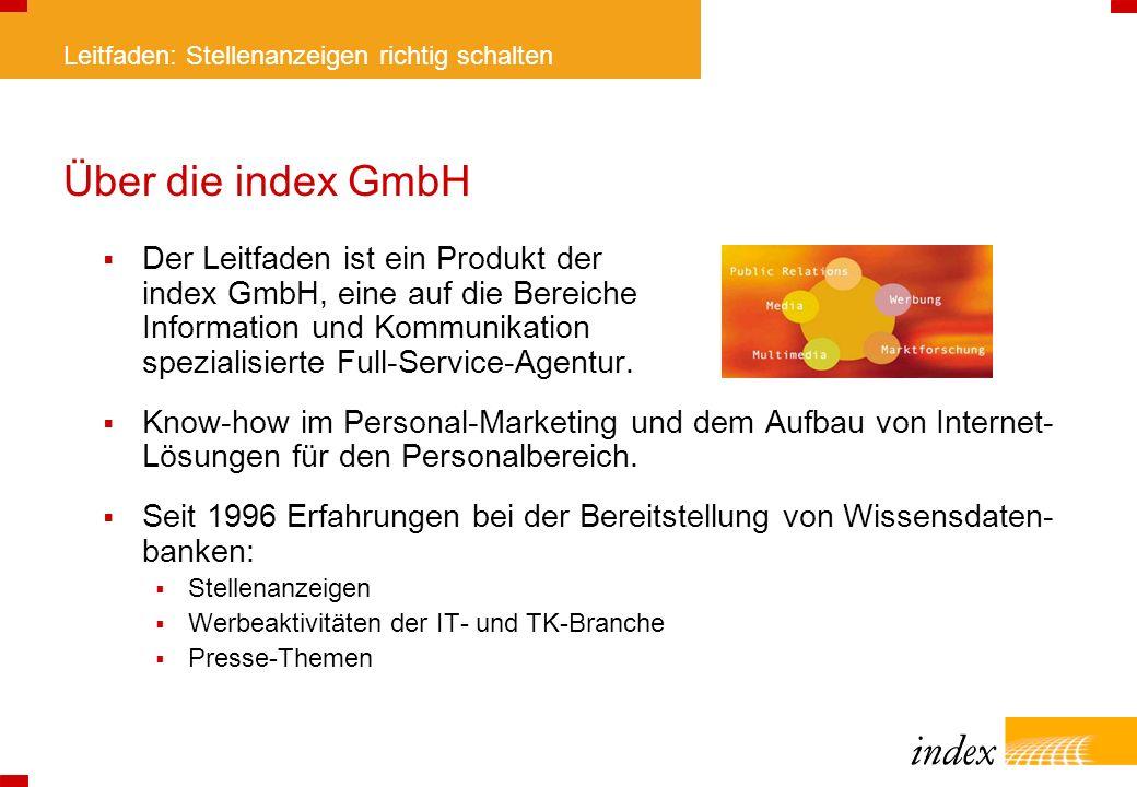 Über die index GmbH