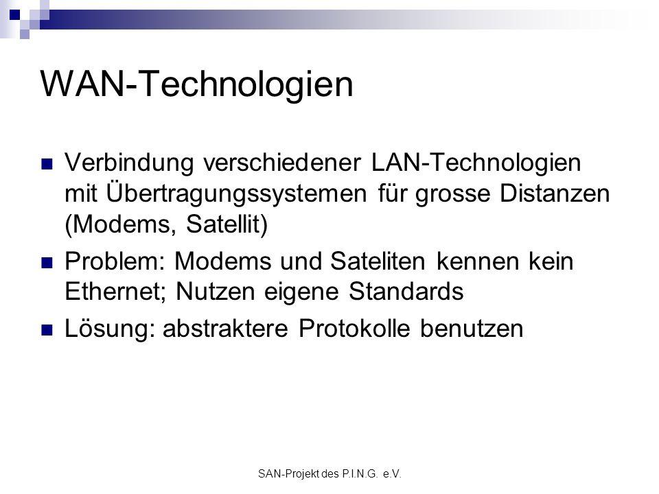 SAN-Projekt des P.I.N.G. e.V.