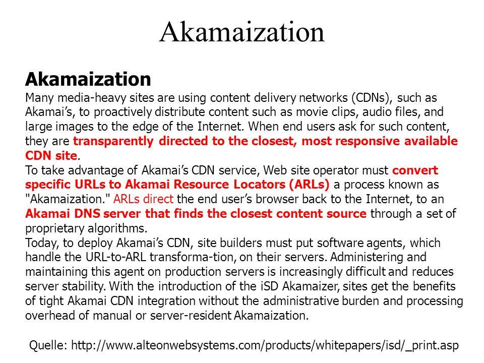 Akamaization