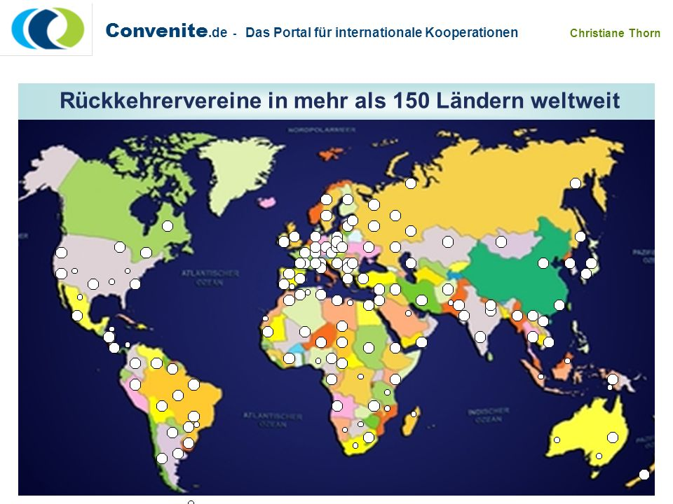 Über 150 Rückkehrervereine weltweit