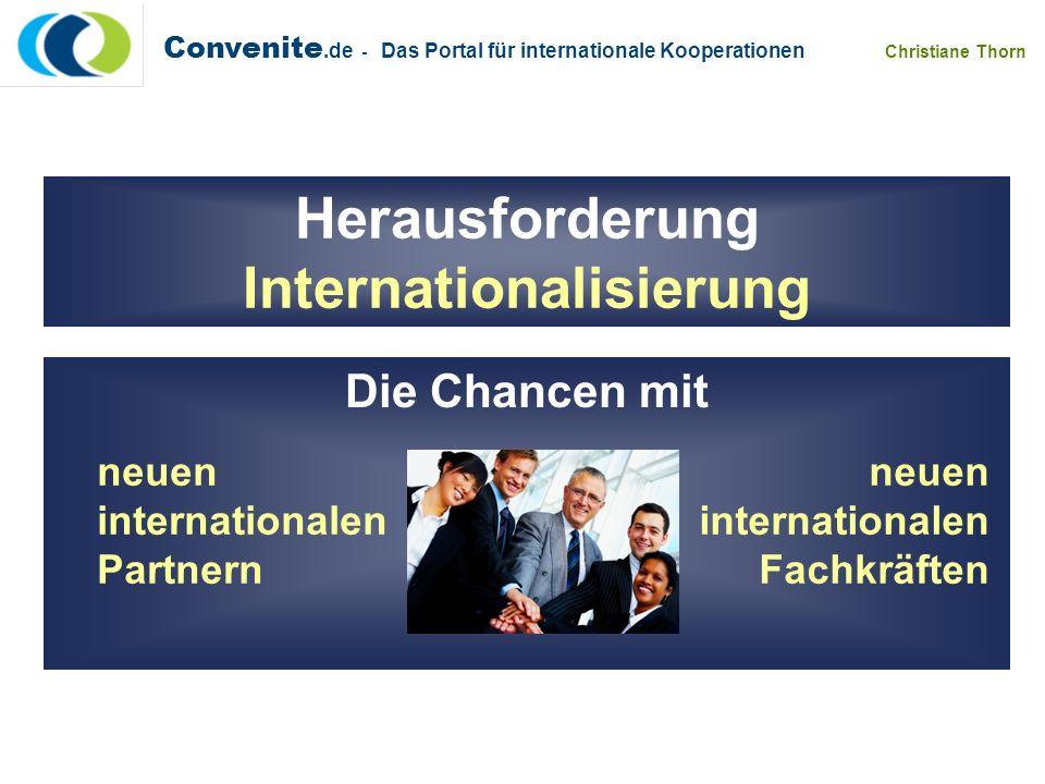 Herausforderung Internationalisierung