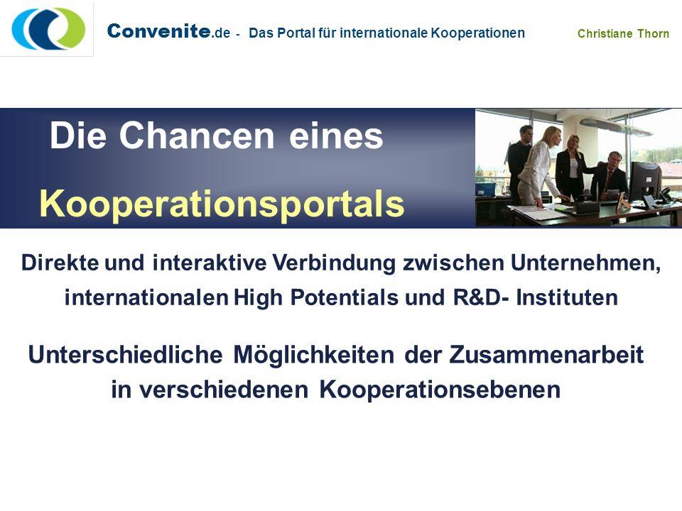 Die Chancen eines Kooperationsportals