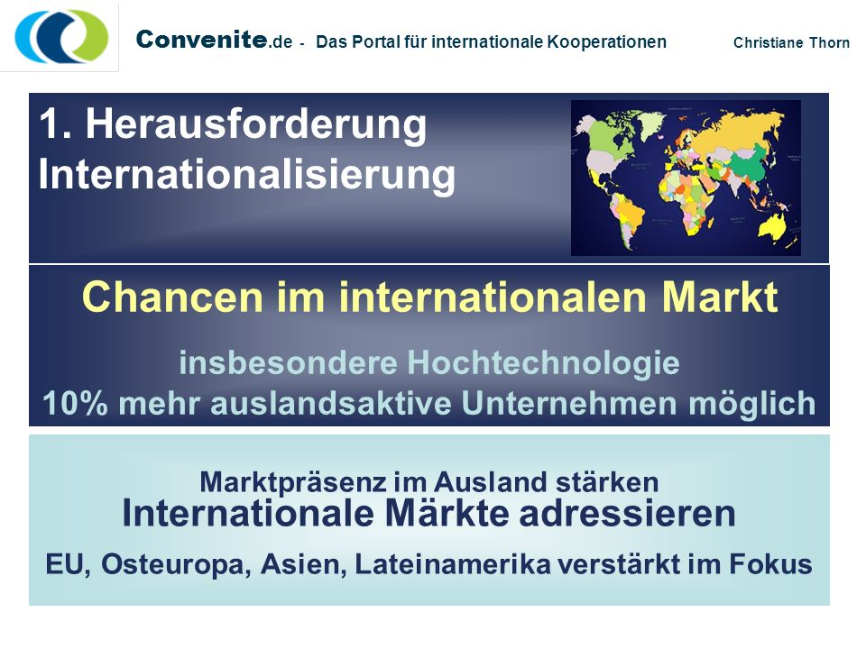 Chancen im internationalen Markt