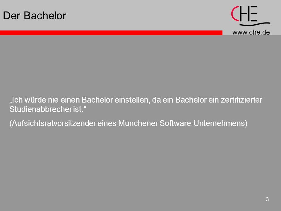 """Der Bachelor """"Ich würde nie einen Bachelor einstellen, da ein Bachelor ein zertifizierter Studienabbrecher ist."""