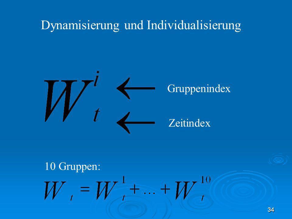 Dynamisierung und Individualisierung