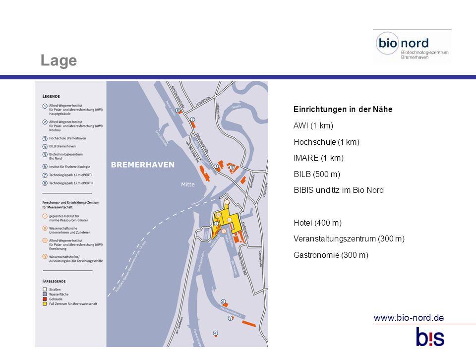Lage www.bio-nord.de Einrichtungen in der Nähe AWI (1 km)