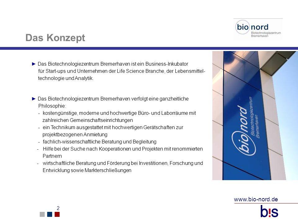 Das Konzept www.bio-nord.de