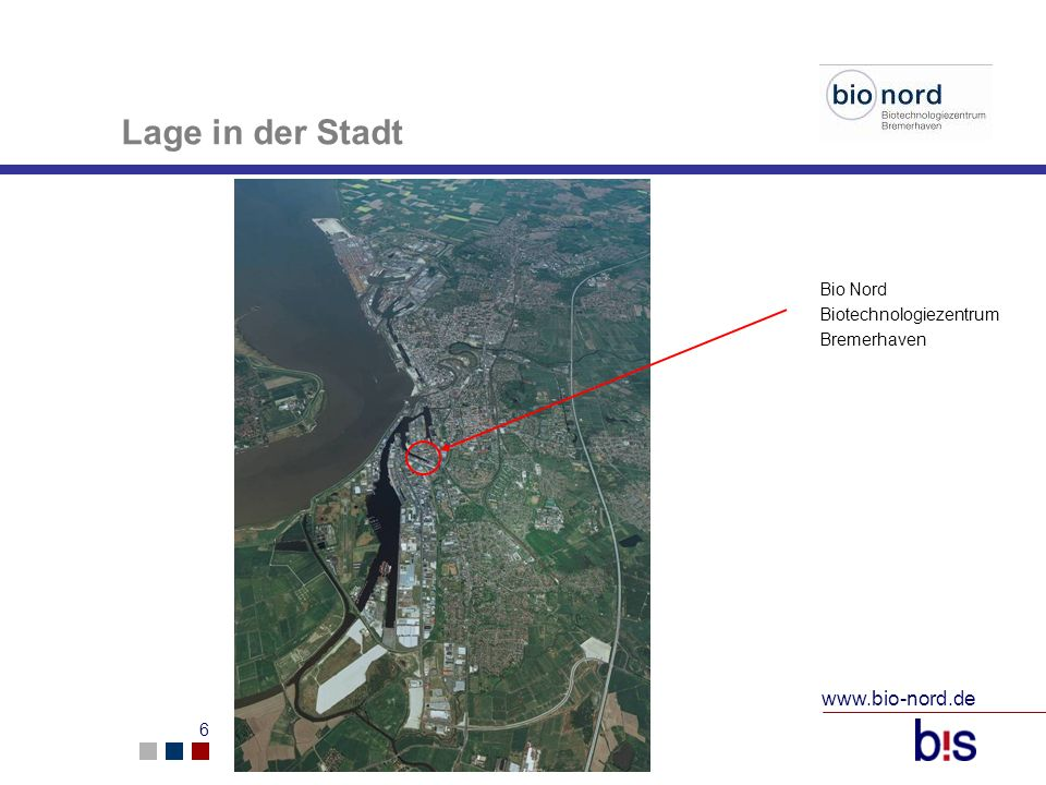 Lage in der Stadt www.bio-nord.de