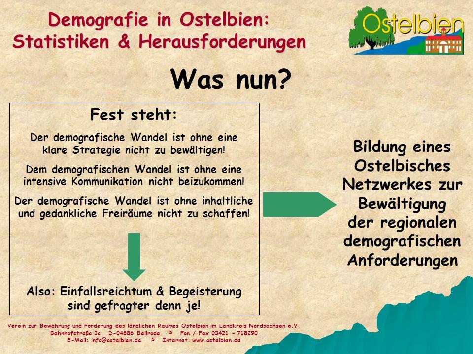 Was nun Demografie in Ostelbien: Statistiken & Herausforderungen