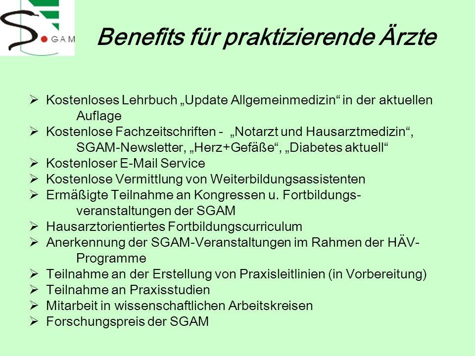Benefits für praktizierende Ärzte