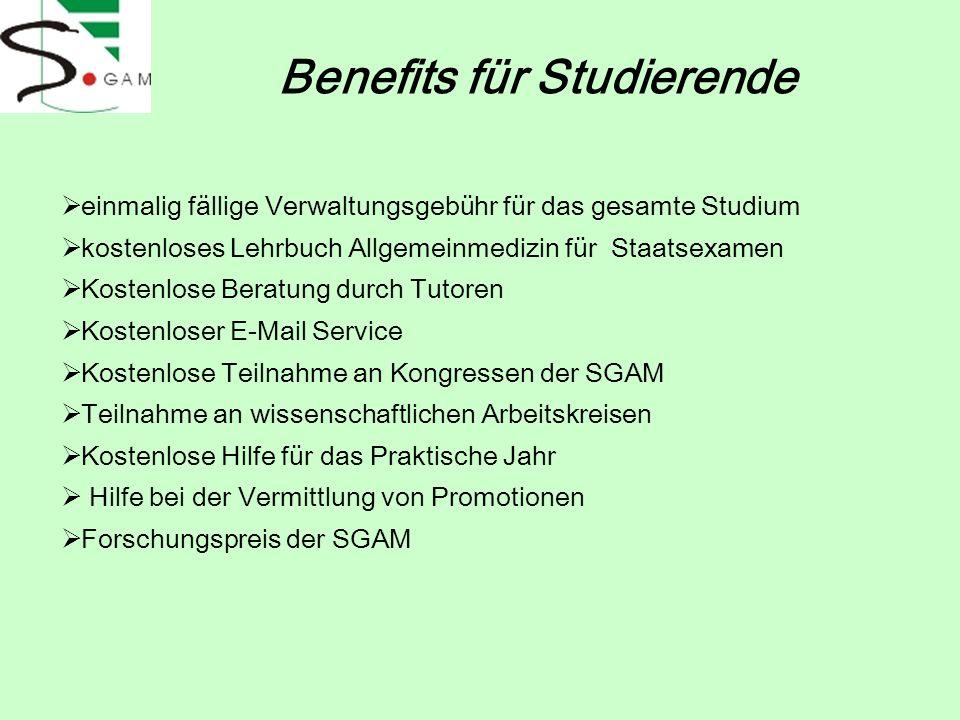 Benefits für Studierende