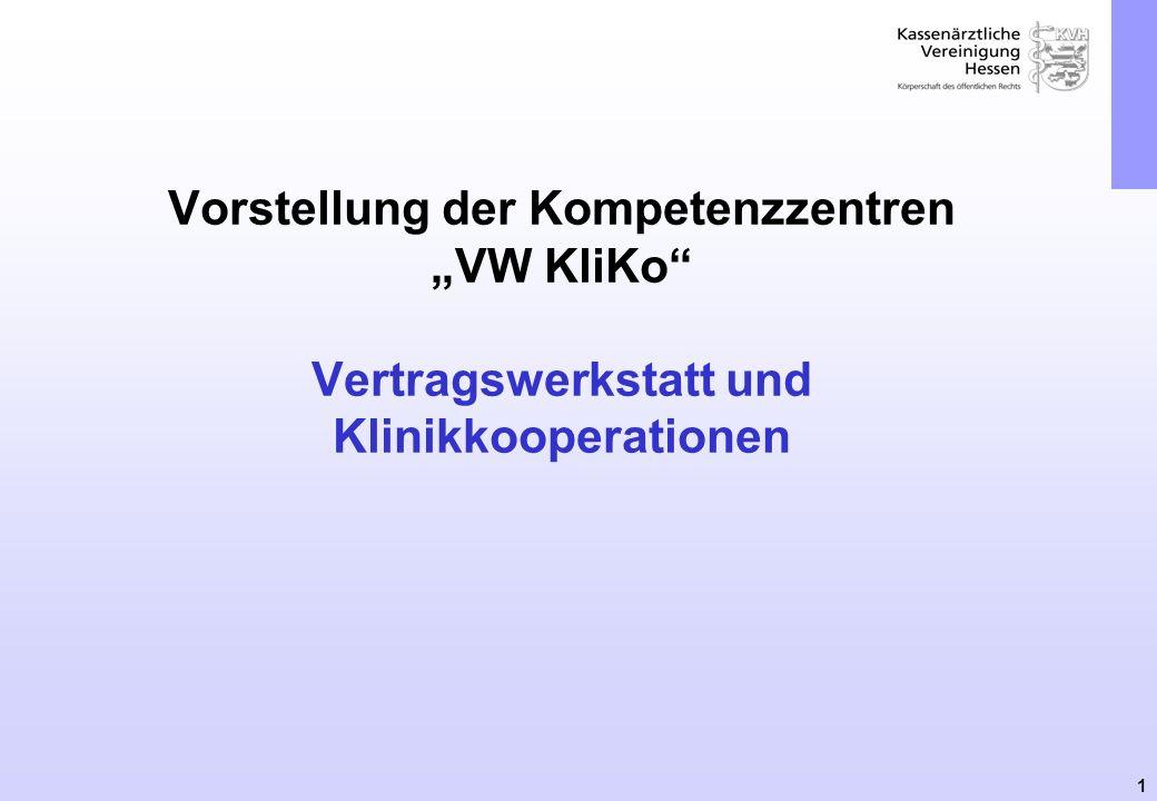"""Vorstellung der Kompetenzzentren """"VW KliKo Vertragswerkstatt und Klinikkooperationen"""