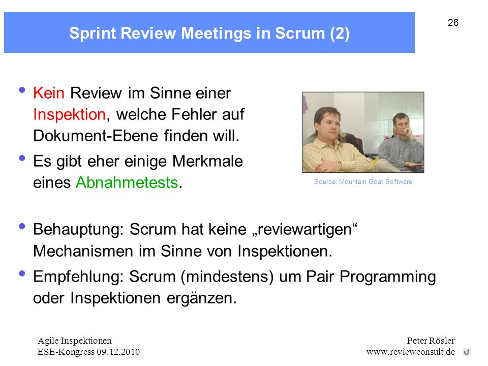Sprint Review Meetings in Scrum (2)
