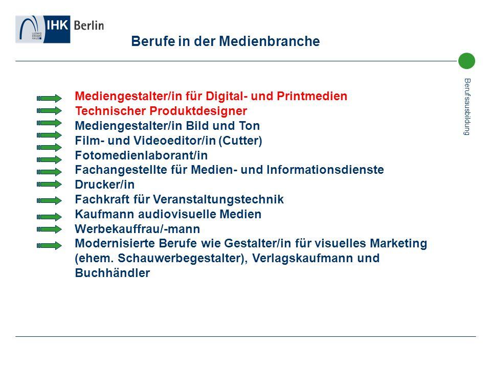 Berufe in der Medienbranche