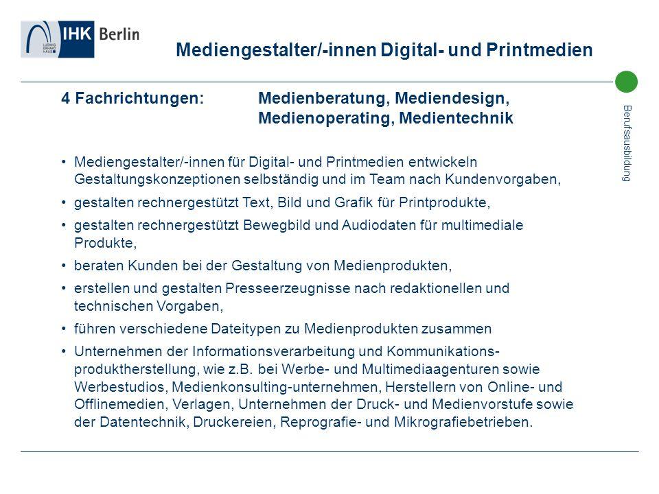 Mediengestalter/-innen Digital- und Printmedien