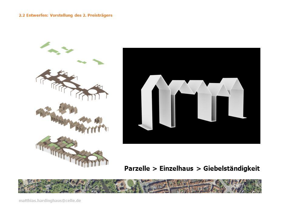Parzelle > Einzelhaus > Giebelständigkeit