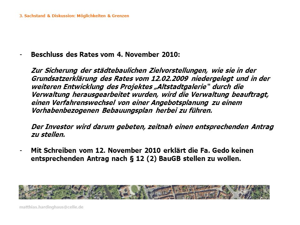 Beschluss des Rates vom 4. November 2010: