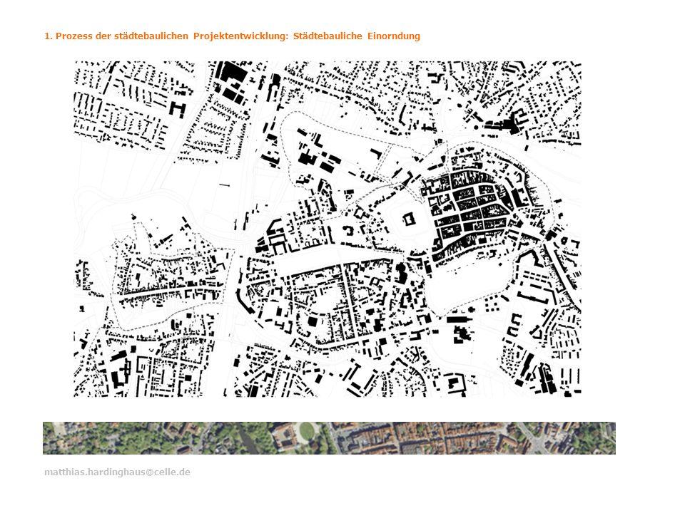 1. Prozess der städtebaulichen Projektentwicklung: Städtebauliche Einorndung