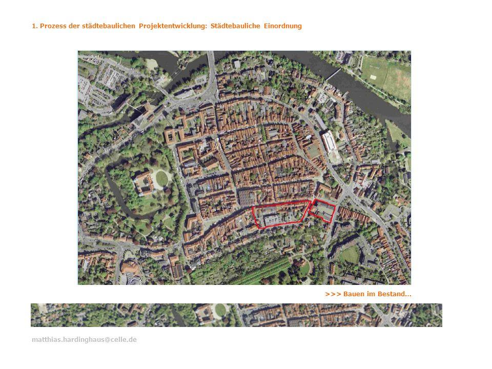 1. Prozess der städtebaulichen Projektentwicklung: Städtebauliche Einordnung