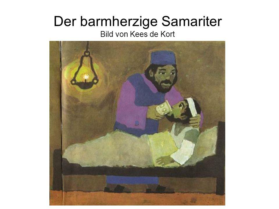 Der barmherzige Samariter Bild von Kees de Kort
