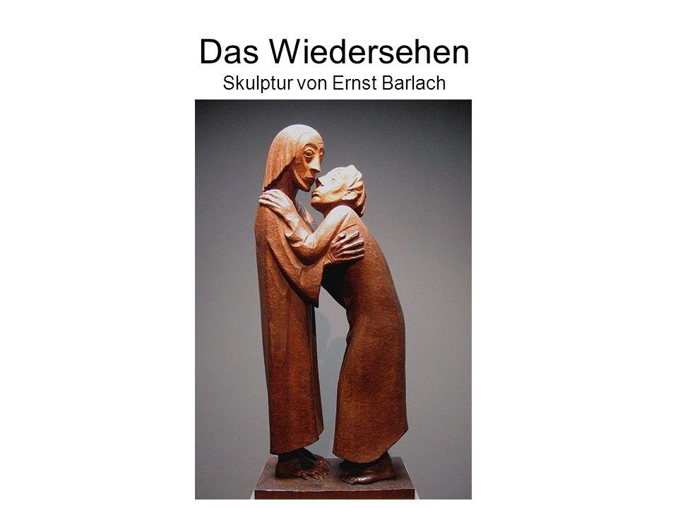 Das Wiedersehen Skulptur von Ernst Barlach