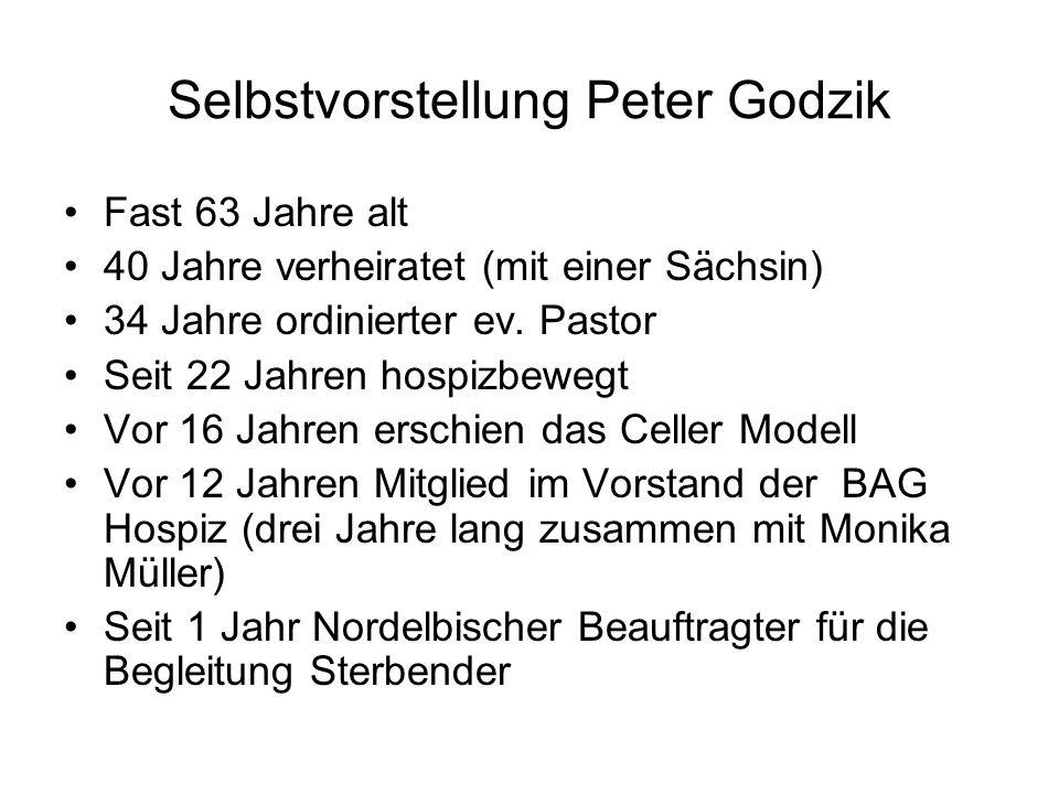 Selbstvorstellung Peter Godzik
